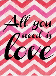 posters-para-imprimir-zig-zag-rosa-all-you-need-is-love