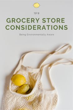 Being Environmentally Aware: Grocery Store Considerations #GoMamaBear