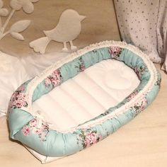 Nest for newborn, baby bedding, cot, snuggle nest, sleeping nest.Soft and cozy cocoon of 100% natural materials.Hypoallergenic.