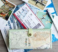 Easy Wallet Sewing Pattern. DIY Tutorial in Pictures.