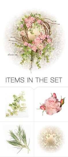 """The Grace of a Pink Rose"" by emjule ❤ liked on Polyvore featuring art"