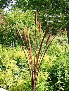 Metal Petals Garden Art ~ Unique Home & Garden Decor~