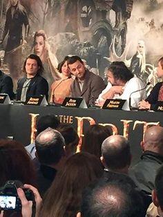 The Hobbit BOTFA press conference