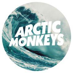 Arctic Monkeys Ocean Circle Logo