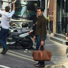 David Gandy shooting today in London || 15/05/16