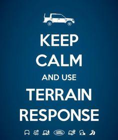 Keep calm and use terrain response.
