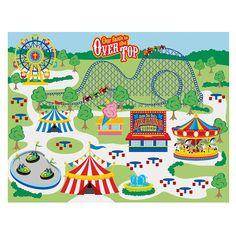 Make-An-Over The Top Carnival Sticker Scenes - OrientalTrading.com