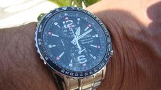 SEIKO ''Sportura'' Pilot's Watch