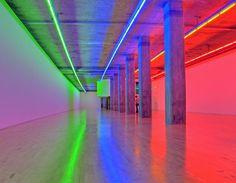 'Neon Lights Installation' by Dan Flavin