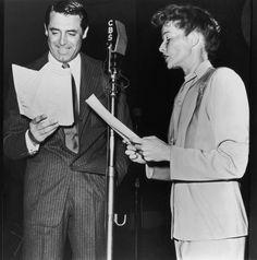 Cary Grant & Katharine Hepburn on CBS Radio