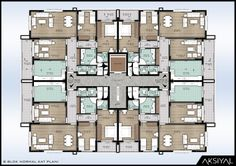 The house plans are the plans where the house is useful, everything from which side of the doors wil House Layout Plans, Craftsman Style House Plans, House Layouts, Apartment Floor Plans, House Floor Plans, Architecture Plan, Residential Architecture, Commercial Building Plans, Mediterranean Style Homes