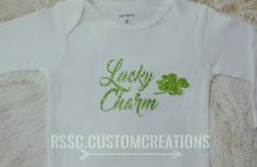 Lucky Charm Shirt Saint Patrick's Day Shirt by RSSCustomCreations