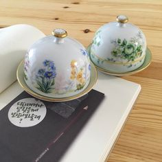 BUTTER DISHES/COVERS