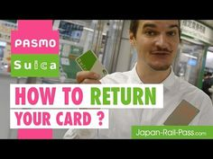 (15) PASMO / SUICA CARDS - How to return ? - YouTube