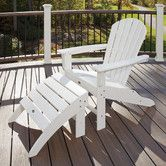 Found it at Wayfair - Trex Outdoor Cape Cod 2 Piece Adirondack Seating Set