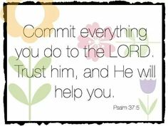 Commit and Trust!