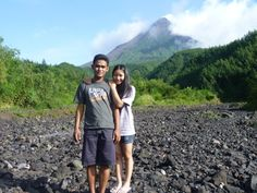 Beautifull Merapi Volcano, Indonesia