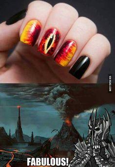 Sauron nails