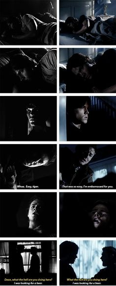 [SET OF GIFS] 1x01 Pilot vs. 2x20 What Is and What Should Never Be. Oh wow I didn't realize how similar those scenes were,  that's awesome.