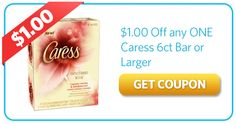 $1.00 Off Caress 6 Bars or More