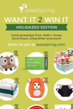 Enter our Want it? Win it! Holidazed giveaway -- a chance to win gifts for everyone on your list.
