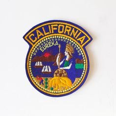 Vintage Patch CALIFORNIA