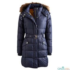 Are you looking for Blue Heavily Padded Coat Manufacturers? Oasis Jackets, the leading Blue Heavily Padded Coat Manufacturer in USA, Canada, Australia.
