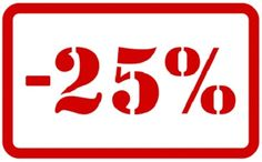 We have 25% discount on this week, don't miss to get it