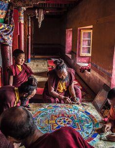 Making a Mandala #2 by neeraj chaturvedi on 500px