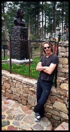"Rick Springfield on Twitter May 14, 2015: ""Hanging out with Wild Bill Hickok in Deadwood, SD. Slow day."" ♥♫♥"