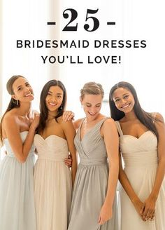 Make your maids happy with dresses they'll love...seriously! #thankuslater