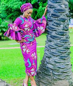 """46 Likes, 1 Comments - African Queen Boutique (@africanqueen_nyc) on Instagram: """"#FashionFriday We are loving this bell sleeve look on @emeliajane_075. Feeling Inspired? Visit…"""""""