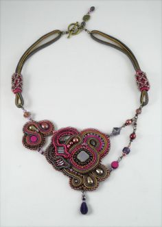 BLOG.AMEERUNSWITHSCISSORS.COM: Bling Up Your Soutache & Bead Embroidery with Rhinestone Chain
