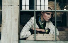Sophisticated Punk Photoshoots - The Marie Claire Turkey May 2012 Editorial Stars Simone W (GALLERY)