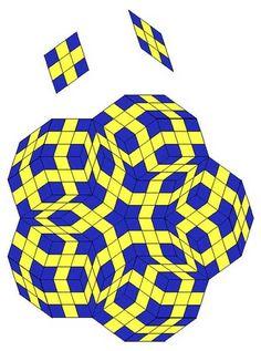 penrose tiles                                                                                                                                                                                 More
