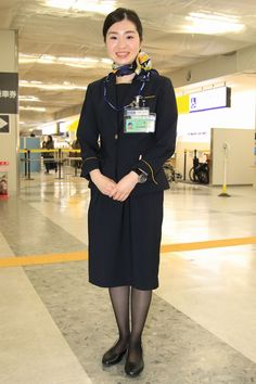 Cabin Crew, Skymark Airlines, Silk Scarves, Plane, Style, Fashion, Tights, Skirts, Nice Asses