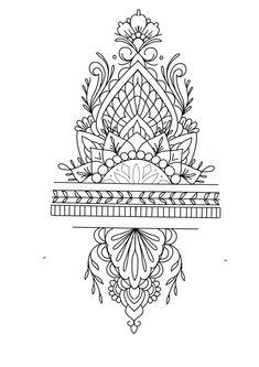 best 11 rose diamond and mandala tattoo design laurenceveillx skillofking com 729935052088756811 Finger Tattoos, Side Hand Tattoos, Henna Tattoos, Leg Tattoos, Tatoos, Tattoo Hand, Xoil Tattoos, Octopus Tattoos, Tattoo Maori