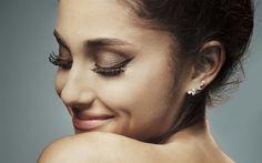 Descargar fondos de pantalla Ariana Grande, 4k, las superestrellas de 2017, la belleza, la cantante estadounidense