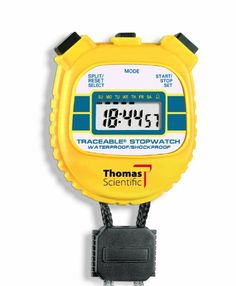 Thomas 1042 Traceable ABS Plastic Shockproof and Waterproof Stopwatch with LCD Display 001 percent Accuracy 238 Length x 218 Width x 12 Thick >>> You can find out more details at the link of the image. (This is an affiliate link) #ExerciseandFitnessEquipment