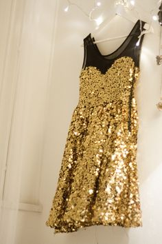 sweet heart sequined dress