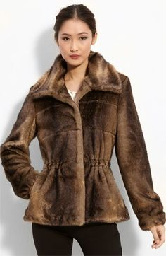 Ellen Tracy Faux Fur Jacket   Nordstrom - StyleSays Faux Fur Jacket, Fur Coat, Fur Clothing, Ellen Tracy, Must Haves, Ready To Wear, Autumn Fashion, Nordstrom, My Style