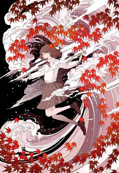 Discover recipes, home ideas, style inspiration and other ideas to try. Anime Art Fantasy, Fantasy Kunst, Art Anime Fille, Anime Art Girl, Manga Art, Art And Illustration, Aesthetic Art, Aesthetic Anime, Art Mignon