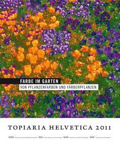 Dieses Buch thematisiert Farbgestaltung im Garten und Gärten als Orte der Farbherstellung.
