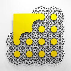 """Cloud (Yellow)"" by Aakash Nihalani"