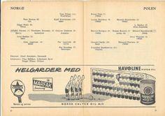 Norway-v-Poland-1955-56-Friendly-International-Football-Programme