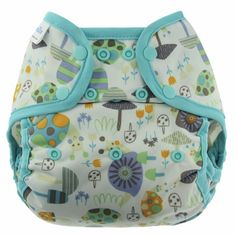 Blueberry Coverall Diaper Cover