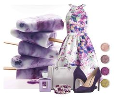 """""""Berry"""" by kemp-jessica ❤ liked on Polyvore featuring Parker, MICHAEL Michael Kors, Nine West, Terre Mère, Bella Bellissima, Honora and halterdresses"""
