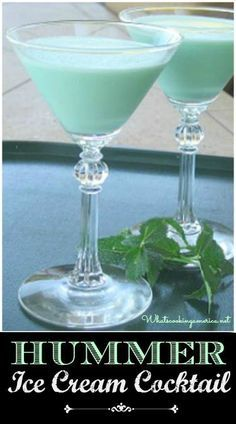 Hummer Cocktail Recipes - Ice Cream Cocktails