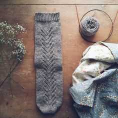 Ravelry: quietleigh's Abisko socks - test