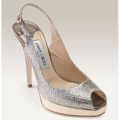 Jimmy Choo Clue Glitter Slingback Peep Toe Pumps Champagne is a fashion style hot sale in this season! You can't miss these high quality shoes with amazing low price. All products are free shipping all over the world. The shoes material is really cool. And it will be suitable and comfortable for you. We hope that these beauty shoes can bring you a exciting experience 2013. Enjoy shopping with our outlet store online now!!!